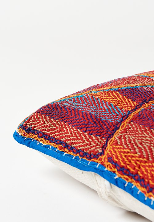 Small Saami Tribe Quilted Pillow