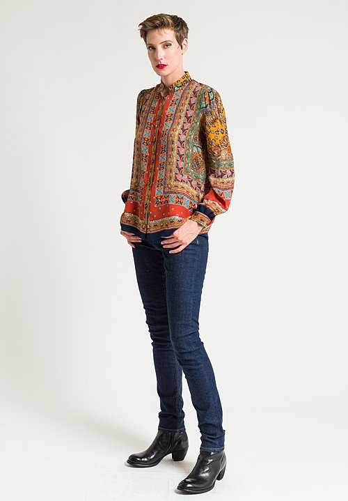 Etro Multiprint Blouse