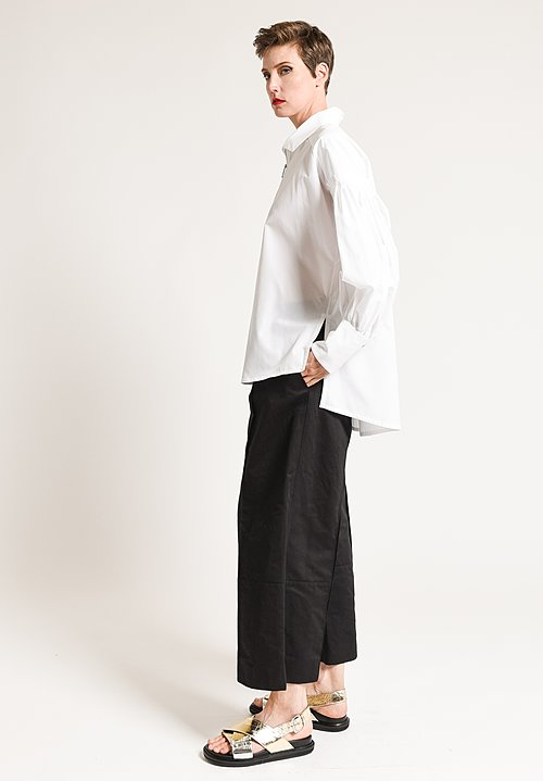 Marni Pleated Top in Lily White