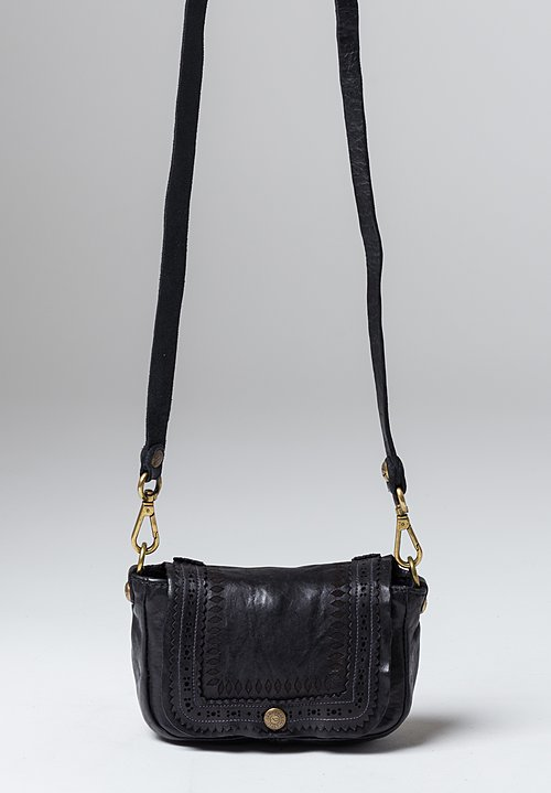 Campomaggi Laser Cut Bag in Black