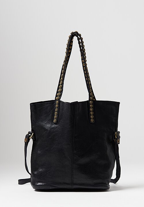 Campomaggi Onice Tote Bag in Black