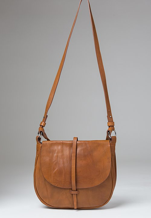 Massimo Palomba Billy Tibet Saddle Bag in Cognac