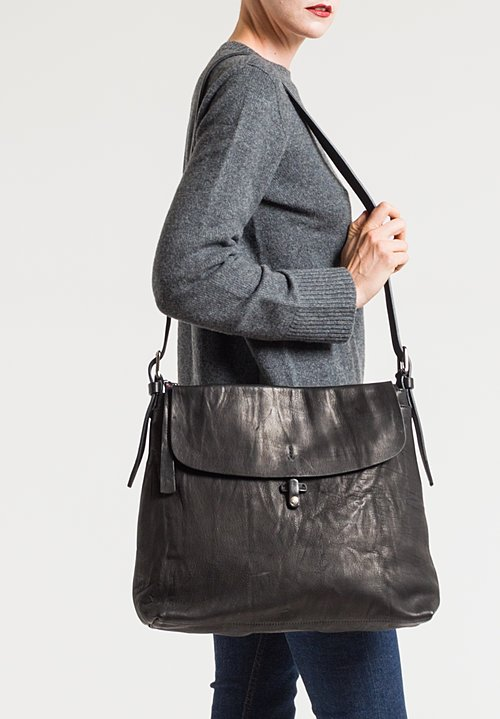 Massimo Palomba Eliza Tibet Shoulder Bag in Black