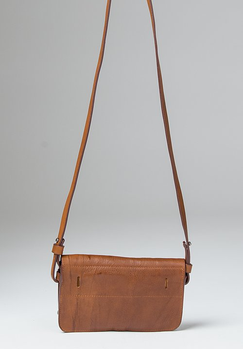 Massimo Palomba Irma Tibet Shoulder/ Waist Bag in Cognac