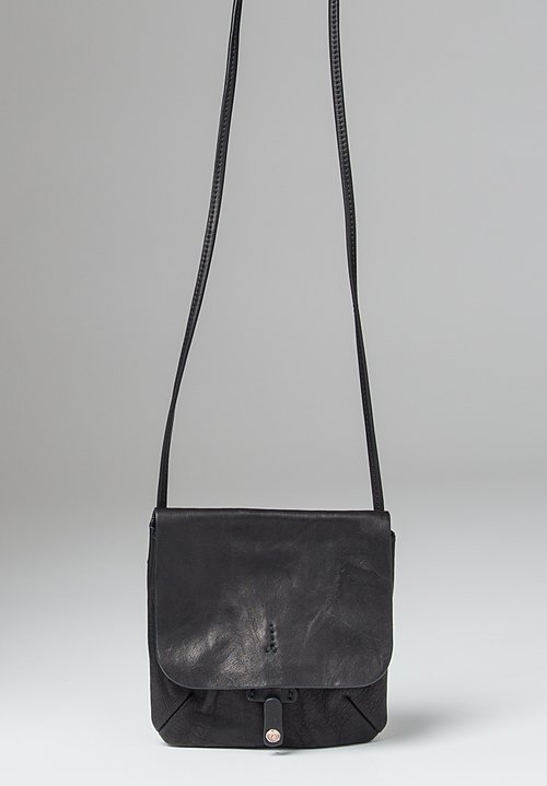 Massimo Palomba Lucy Tibet Cross Body Bag in Black