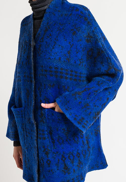 Avant Toi Square Jacquard Duster in China