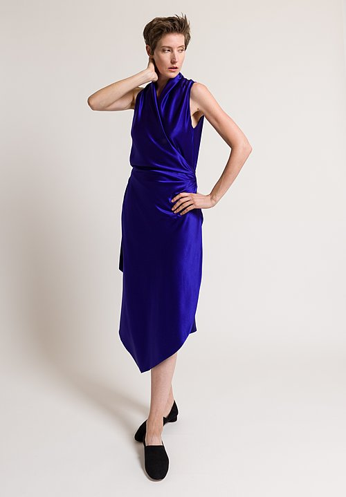 Peter Cohen Long Victor Dress in Violet