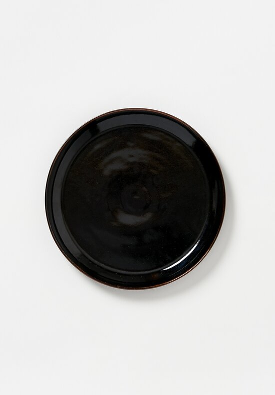 James & Tilla Waters Handmade Tenmoku Stoneware Plate