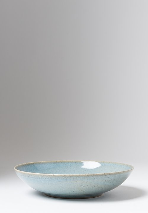 James & Tilla Waters Large Handmade Chün Stoneware Bowl