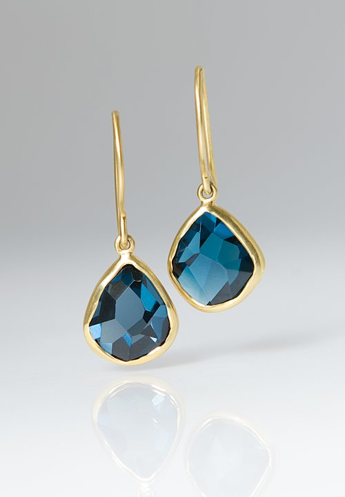 Margoni London Blue Topaz Earrings