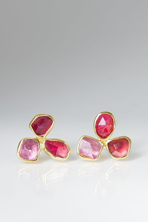 Margoni Pink Tourmaline Earrings