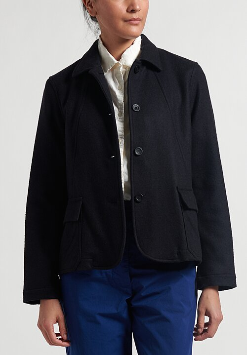 Casey Casey Cashmere Orsan Jacket in Navy