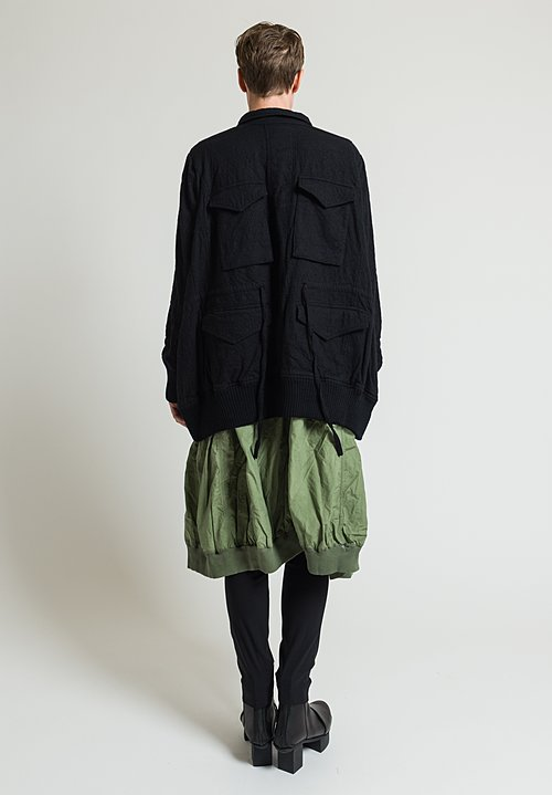 Rundholz Multi Pocket Jacket in Black