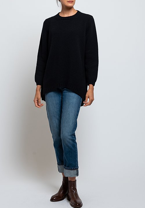 Hania New York Tatiana Sweater in Black