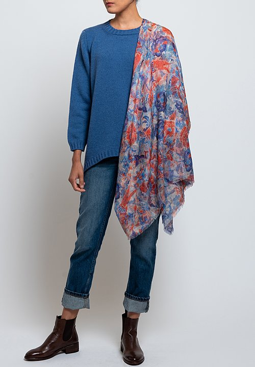 Hania Tatiana Sweater in Soft Denim
