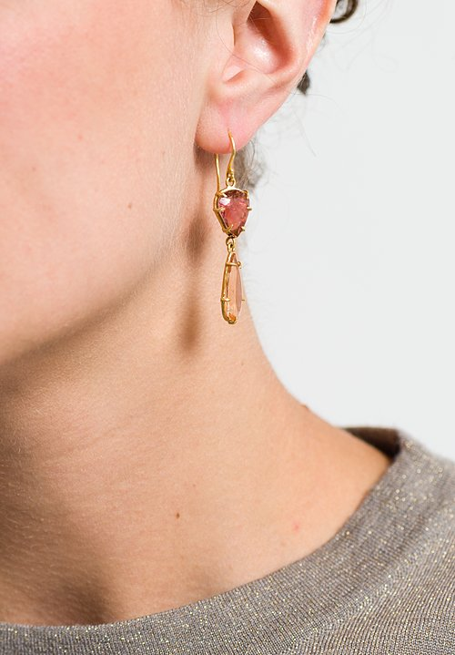 Margery Hirschey Tourmaline Drop Earrings