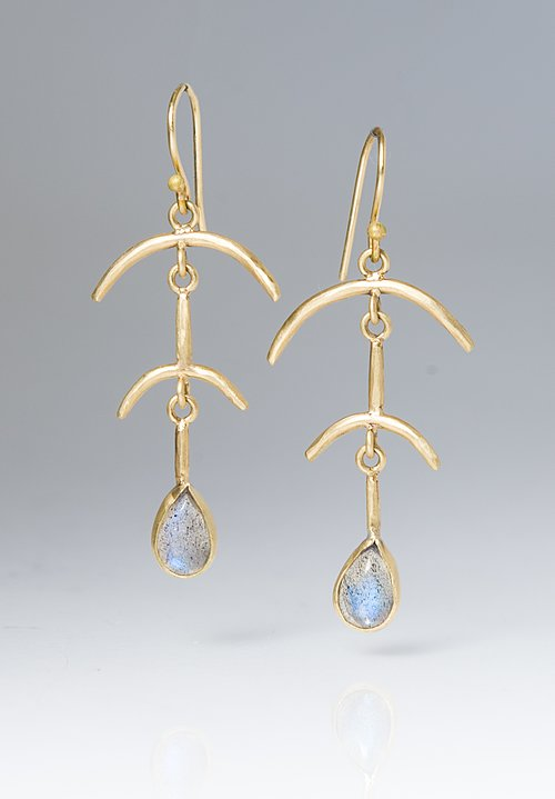 Margery Hirschey Labradorite Dangle Earrings