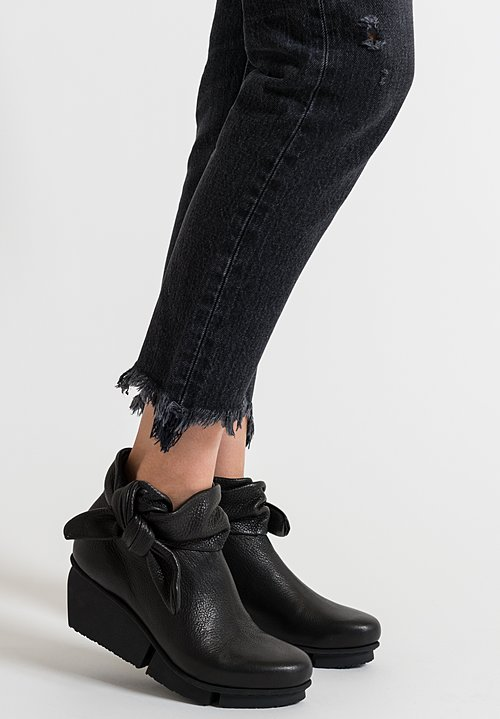 Trippen Tippet Bootie in Black Vst