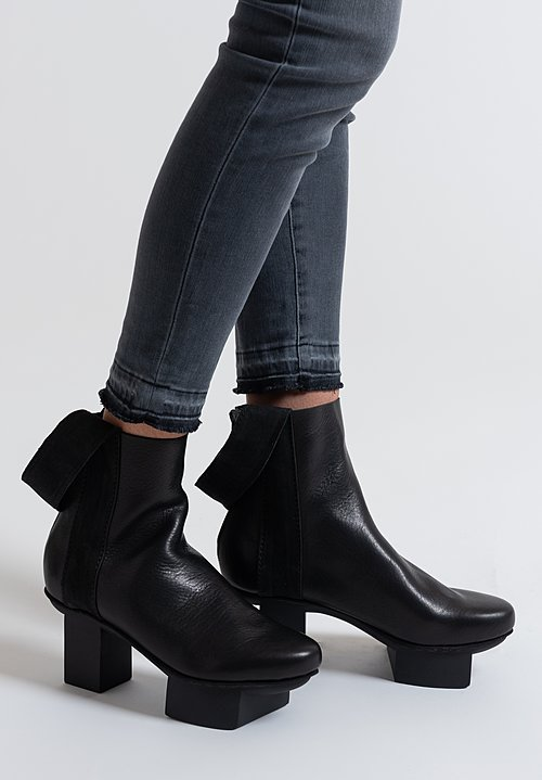 Trippen Flex Bootie in Black