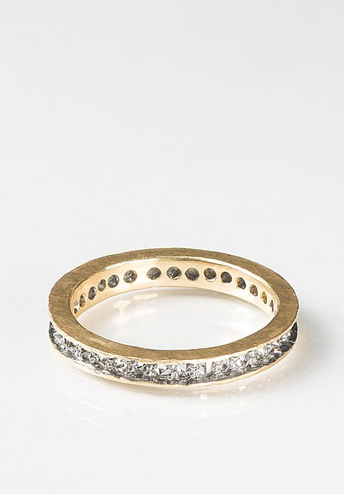 Tap by Todd Pownell 18K, Diamond Eternity Band