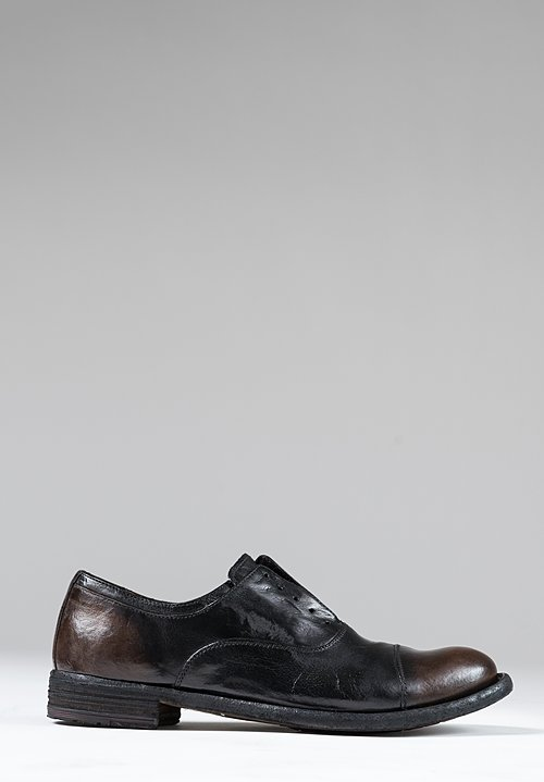 Officine Creative Lexikon Old Ignis Shoes in Caffe/ Supernero