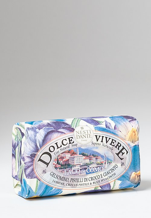 Nesti Dante Dolce Vivere Extra Fine Vegetable Soap in Lago di Como