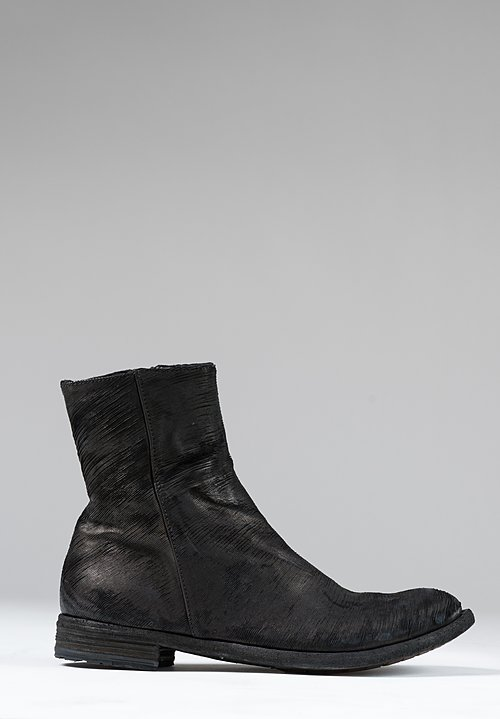 Officine Creative Lexikon Fungo Boot in Nero