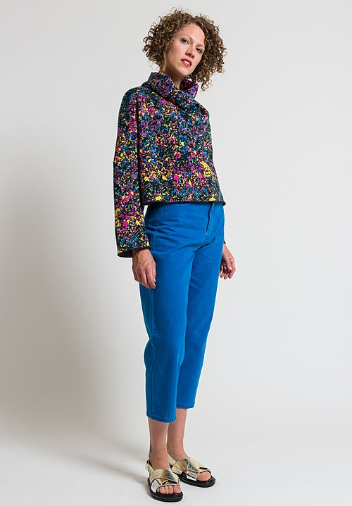 Anntian Relaxed Organic Cotton Jeans in Blue