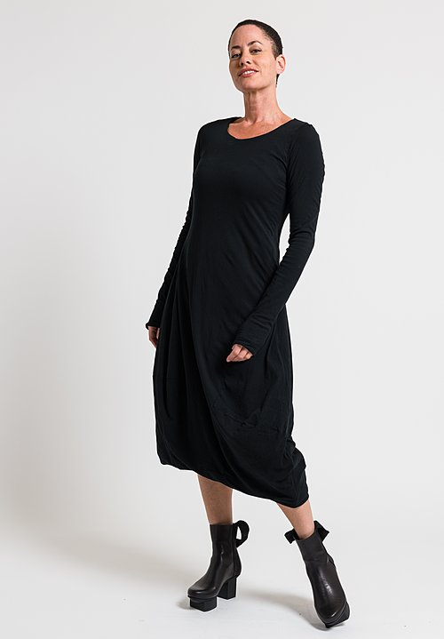Rundholz Black Label Down Skirt Dress in Black
