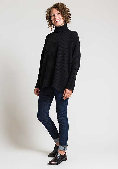 Hania Marita Sweater in Black
