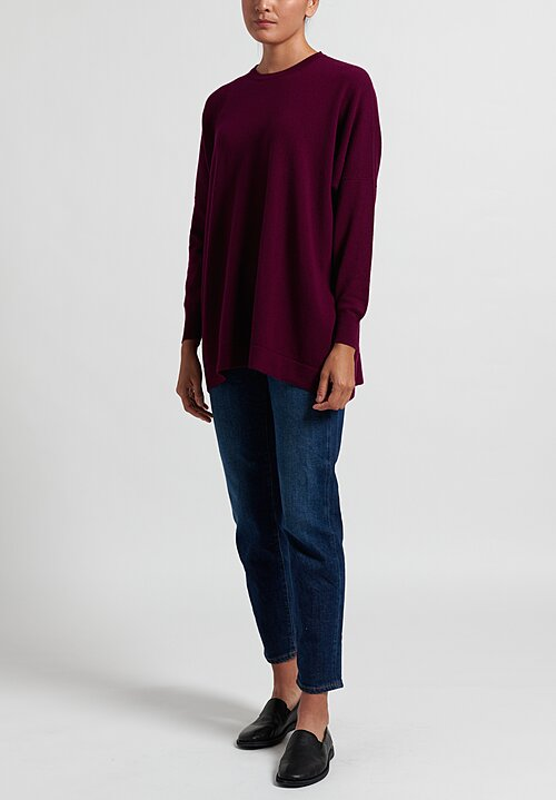 Hania New York Marley Sweater in Purple