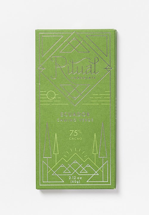 Ritual Chocolate Ecuador Camino Verde Chocolate Bar