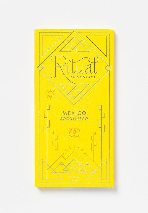 Ritual Chocolate Mexico Soconusco Chocolate Bar