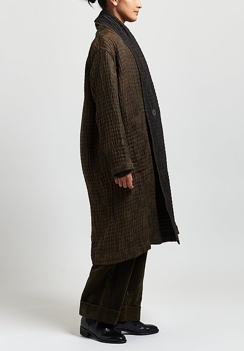 Uma Wang Chidi Coat in Brown