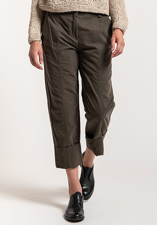 Annette Gortz Denz Pants in Green Pepper