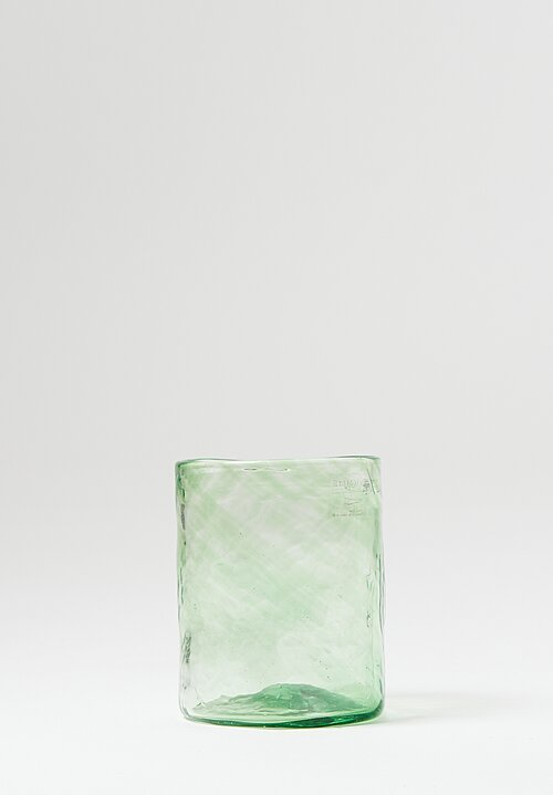 Studio Xaquixe Medium Handblown Glasses in Bristol Green
