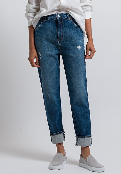 Closed Relaxed Luca Jeans in Eco Faded Worn
