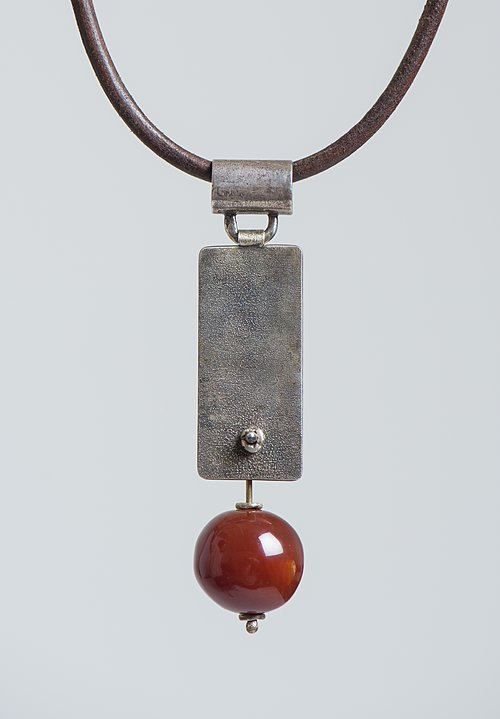 Holly Masterson Large Carnelian Bead Adornment