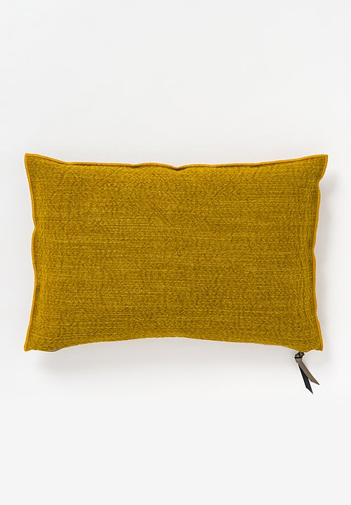 Maison de Vacances Canvas Nomade Pillow in Ocre