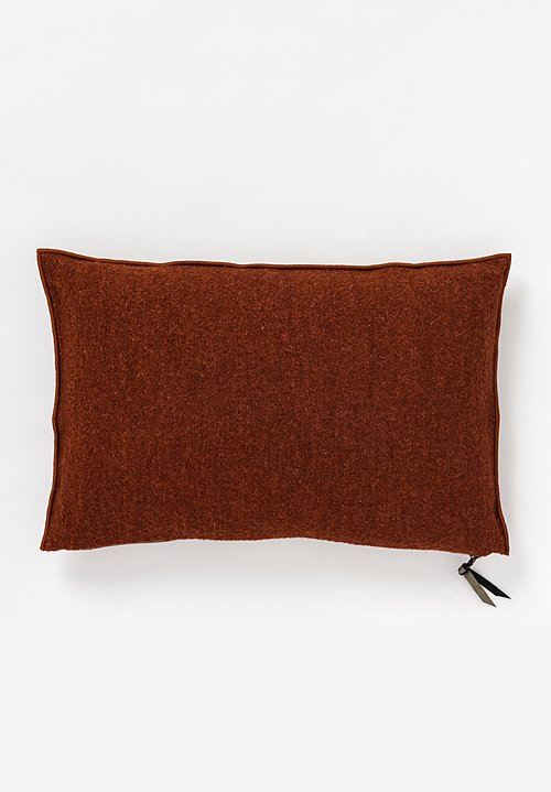 Maison de Vacances Canvas Bouclette Pillow in Argile