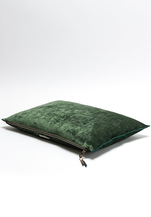 Royal Velvet Pillow in Avocat