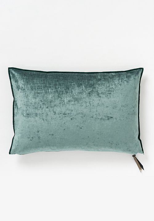 Maison de Vacances Royal Velvet Pillow in Canard
