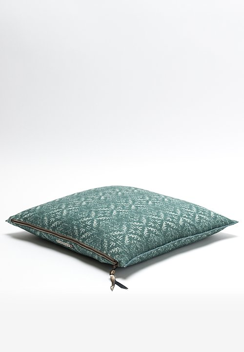 Maison de Vacances Canvas Hopi Square Pillow in Colvert