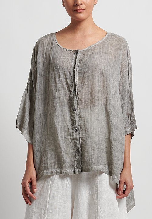 Gilda Midani Super Shirt in Cement