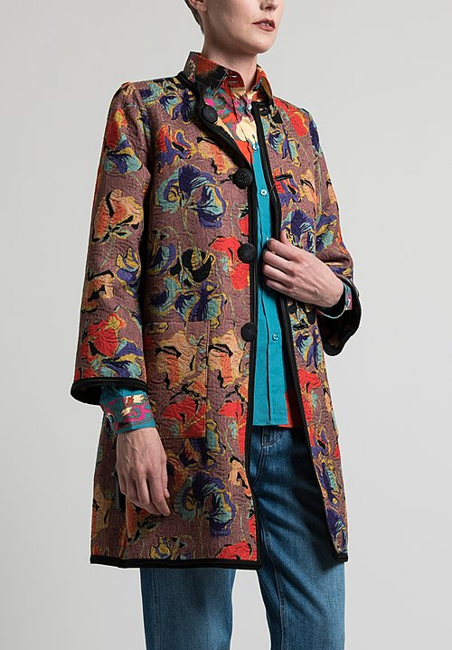 Etro Reversible Jacquard Jacket in Multicolor