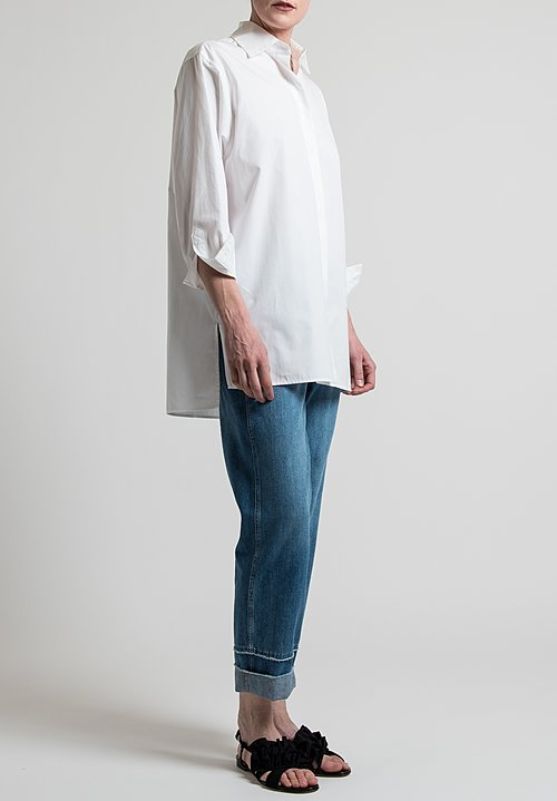 Etro Oversized Shirt in White