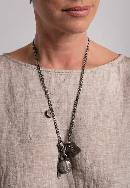Holly Masterson Hand-Formed Charm Necklace
