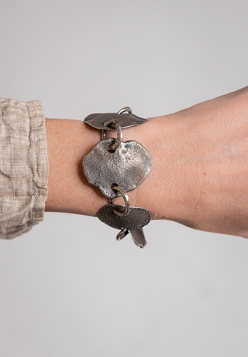 Holly Masterson Large Hand-Formed Organic Shape Bracelet