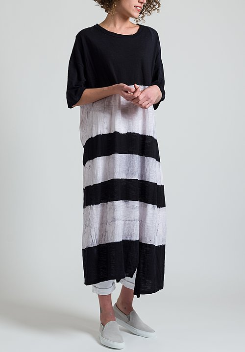 Gilda Midani Super Dress in Stripes Black & White