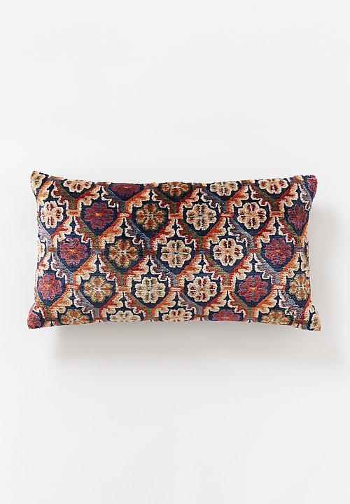 Tibet Home Hand Knotted & Woven Lumbar Pillow in Pema Chakdro